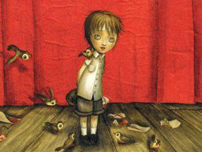 """Lacombe torna a oferir dibuixos elegants i misteriosos de """"Rossinyol""""."""