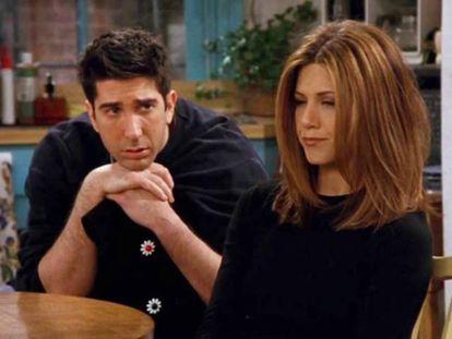 La relación de Rachel y Ross capitaliza el último capítulo de 'Friends'.
