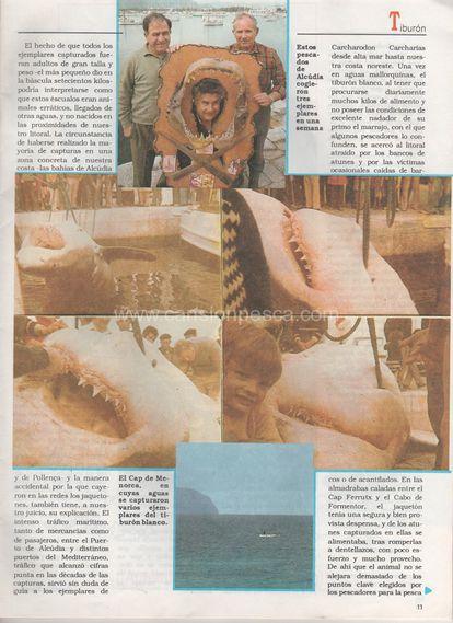 Página del diario mallorquín 'Última hora' con las últimas capturas realizadas en la isla.