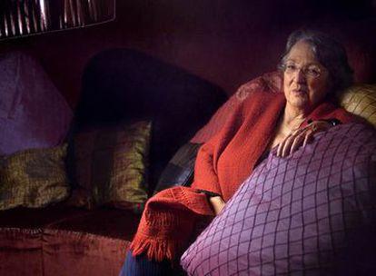La escritora Esther Tusquets, en su casa de Barcelona.