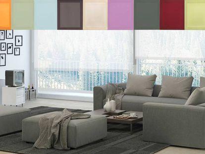 Analizamos el estor económico de la firma Blindecor, el más vendido en Amazon, ahora en numerosos colores y tamaños.