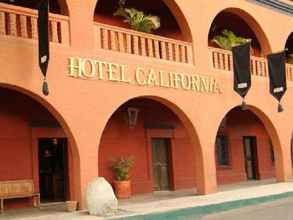 El hotel mexicano llamado 'Hotel California', en una imagen de su web.