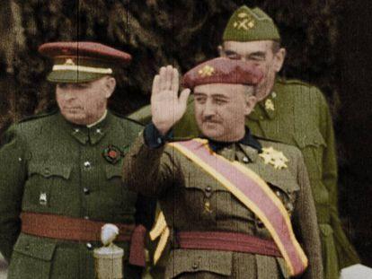 Avance de 'España dividida. La Guerra Civil en color'.