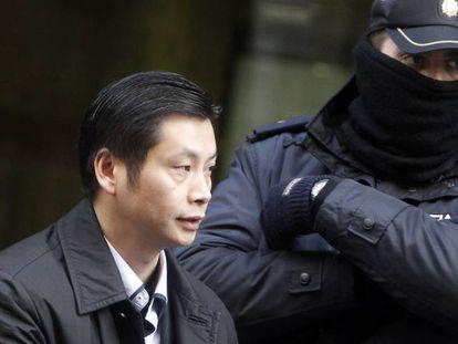 El empresario chino Gao Ping, cabecilla del caso Emperador.