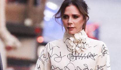La diseñadora Victoria Beckham.