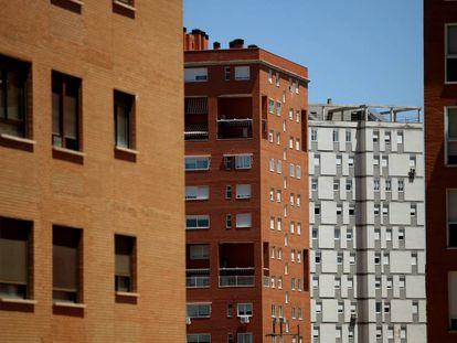 Viviendas de la localidad madrileña de Parla.