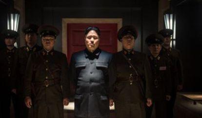 Randall Park, en el papel del líder coreano Kim Jong-un.