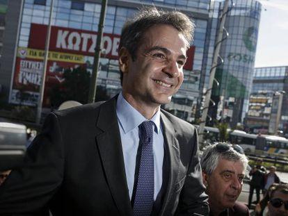 Kyriakos Mitsotakis, nuevo líder de ND.