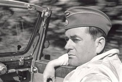 Albert Speer, en una imagen del documental 'Speer goes to Hollywood'.