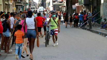 Una de las calles de La Habana, el pasado 2 de noviembre.