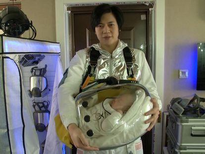 La cápsula de seguridad para proteger a los bebés contra el coronavirus