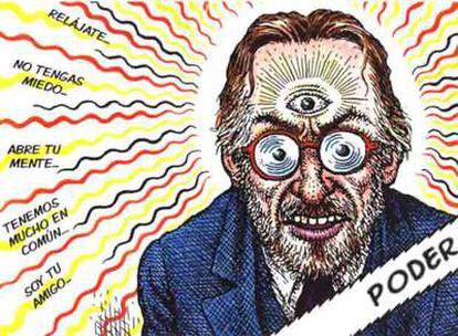 Ilustración de Robert Crumb para su autobiografía.