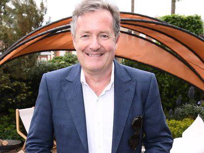 Piers Morgan, en la exposición floral de los jardines de Chelsea, en Londres, el 20 de mayo.