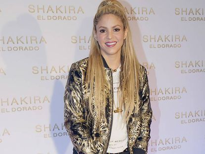 La cantante Shakira.