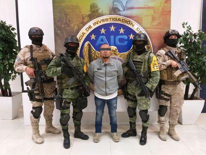 El Marro, después de su detención en Guanajuato.