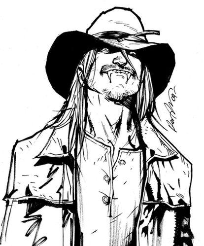 Skinner Sweet, el vampiro protagonista de <i>American Vampire</i>.