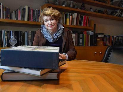 La historiadora Guadalupe Jiménez Codinach, en una imagen de archivo.