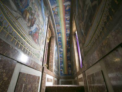 Los cuartos secretos del Monasterio de San Lorenzo de El Escorial