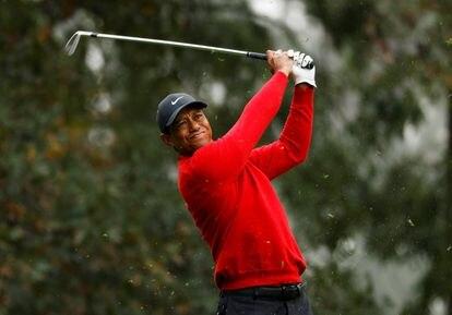 Tiger Woods, en noviembre de 2020.