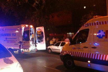 Los servicios de emergencias acuden al tiroteo en una iglesia en el que han fallecido dos personas.