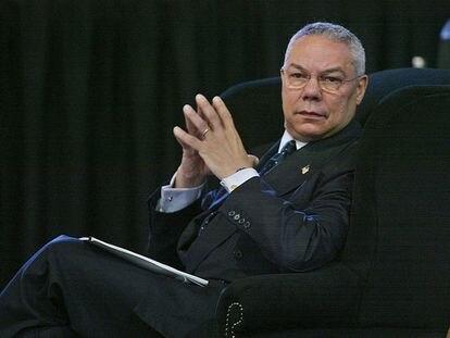El ex secretario de Estado norteamericano, Colin Powell, en 2002.