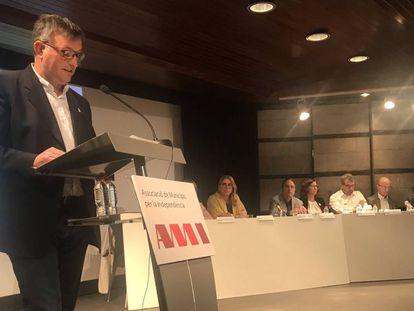 El nuevo presidente de la AMI, Josep Maria Cervera