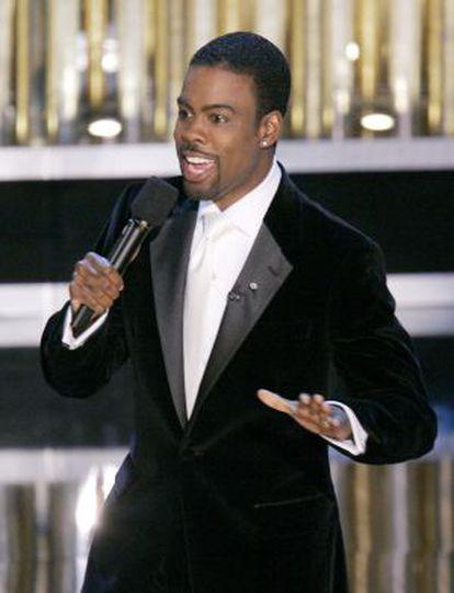 Chris Rock, en los Oscar en 2007.