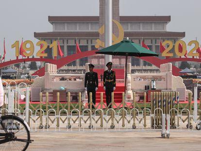 El Partido Comunista de China celebra los 100 años de su fundación.