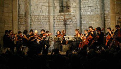 Uno de los conciertos de la Schubertiada de 2016.