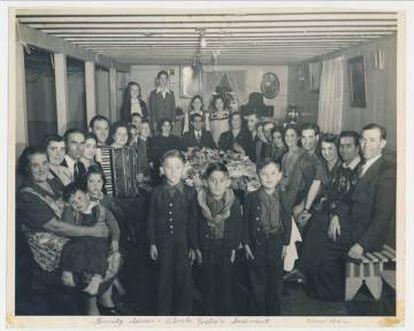 Acción de Gracias en San Leandro, California, 1940.