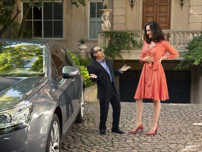 Guillermo Francella y Julieta Díaz, en la película.