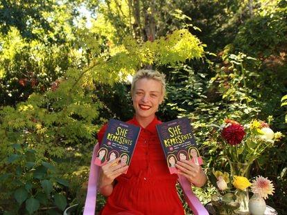 La escritora y periodista Caitlin Donohue autora del libro 'She represents' en Ciudad de México.