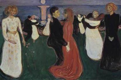 <i>La danza de la vida</i> (1899-1900), de Edvard Munch, de la Galería Nacional de Oslo.