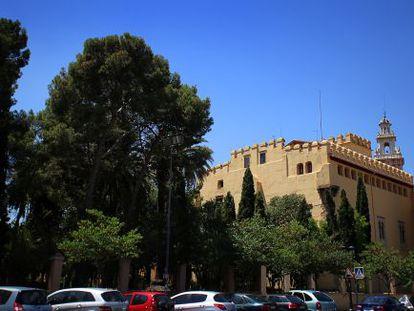 Colegio Mayor San Juan de Ribera, en Burjassot.