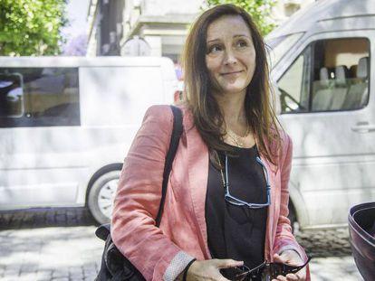 María Ángeles Núñez Bolaños, sustituta de Mercedes Alaya, en los juzgados de Sevilla.