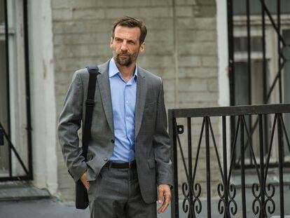 Mathieu Kassovitz, en la quinta temporada de 'Oficina de infiltrados'.