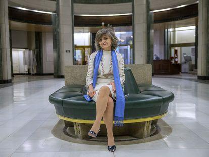 La parlamentaria María Luisa Carcedo, este jueves en el Congreso.