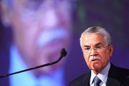 Ali Al Naimi durante una conferencia en Chicago en 2010.