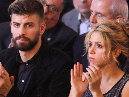 El futbolista Gerard Piqué y la cantante Shakira.