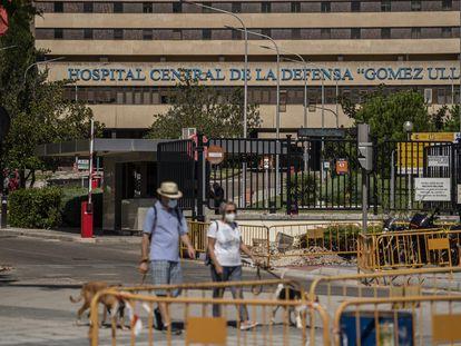 El Hospital Gómez Ulla, de Madrid, que no dio respuesta a la enferma, este septiembre.