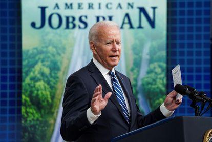 US President Joe Biden addresses the June jobs report at the White House in Washington on July 2, 2021.