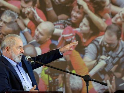 El expresidente brasileño Lula Da Silva, en un evento en marzo pasado.