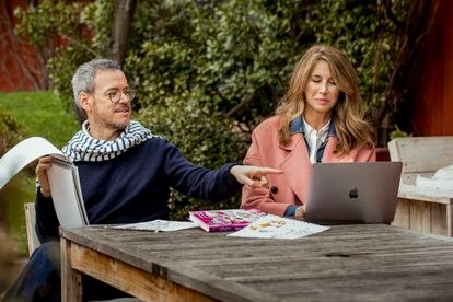 Ana García-Siñeriz y Jordi Labanda.