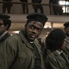 """This photo released by Warner Bros. Pictures shows a scene from Daniel Kaluuya in """"Judah and the Black Messiah.""""  (Warner Bros. Pictures through AP)"""