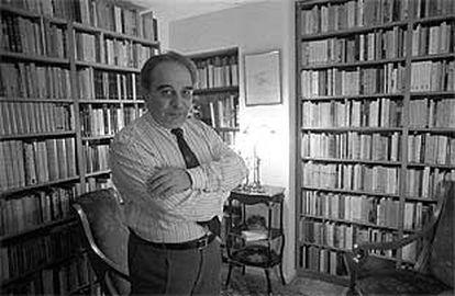 Juan García Hortelano, fotografiado en 1989.