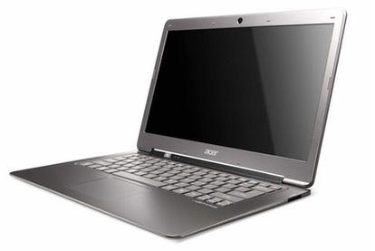 El <i>ultrabook</i> Aspire S3 del fabricante taiwanés Acer, una de sus principales apuestas para 2012