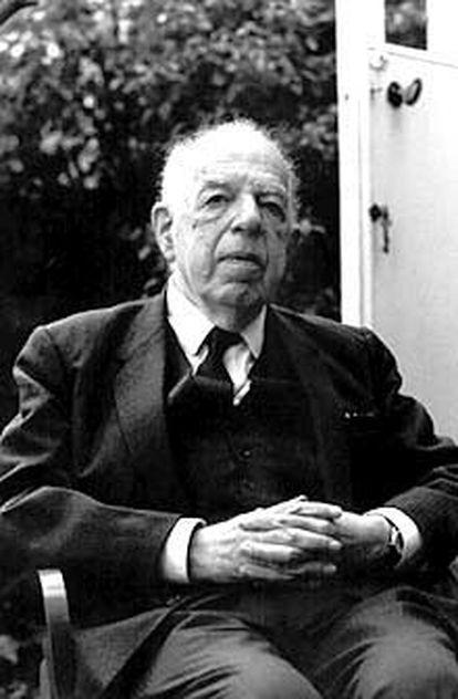 El historiador del arte E. H. Gombrich.