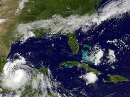 El sistema, que avanza rápidamente, dejand importantes lluvias en 19 Estados del país