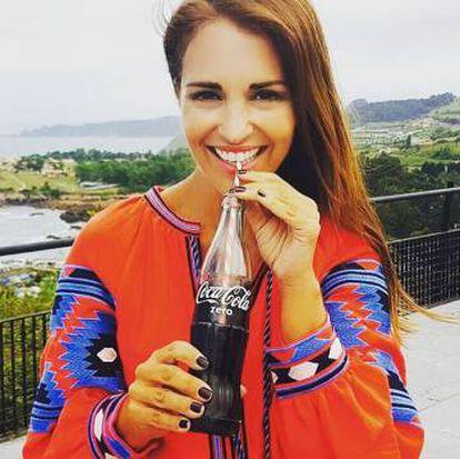Paula Echevarría en una de sus fotos de Instagram.