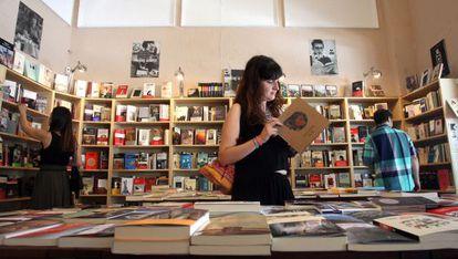 Libreria Cervantes, en Madrid.
